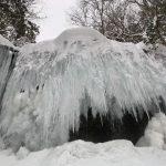 岩井滝氷瀑
